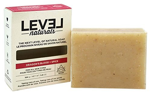 Level Naturals Body (Level Naturals - Cruelty-Free and All-Natural Bar Soap - 5.8 oz. (Dragon's Blood and Spice))