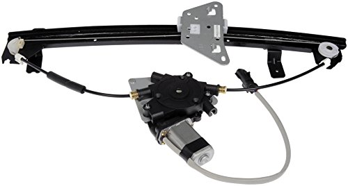 Regulator Dodge (Dorman 741-599 Dodge Rear Passenger Side Window Regulator with Motor)