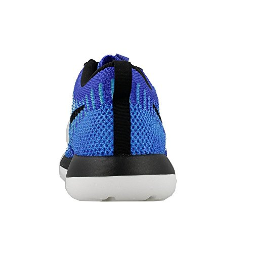 Nike Roshe Two Flyknit (Gs), Zapatillas de Running para Niños Azul (Azul (racer blue/black-photo blue-blue lagoon))