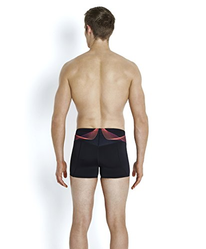 Speedo Fit Pinnacle Short de Bain Homme, Noir, FR : 40 (Taille Fabricant : 40)