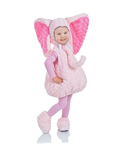 Underwraps Baby's Elephant Belly-Babies, Pink, Medium -
