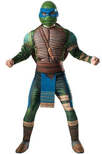 Rubies TMNT Leonardo Deluxe Movie 2 Adult Costume