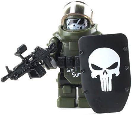 Custom COMBAT WEAPON Lot for Custom Minifigures TACTICAL RIFLE Shotgun GPS