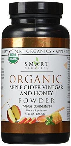 SMART ORGANICS Apple Cider Vinegar & Honey 125 gm, 0.02 Pound