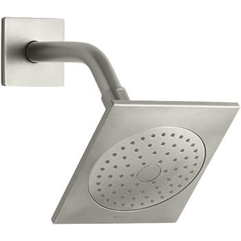 KOHLER K 14786 BN Loure Single Function Showerhead, Vibrant Brushed Nickel