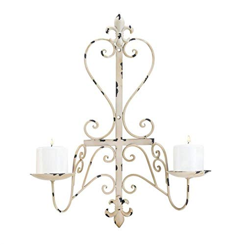 (Star Wall Candle Sconces Iron Hanging Wall Mounted Decorative Candle Holder for Home Decorations,Weddings,Events)