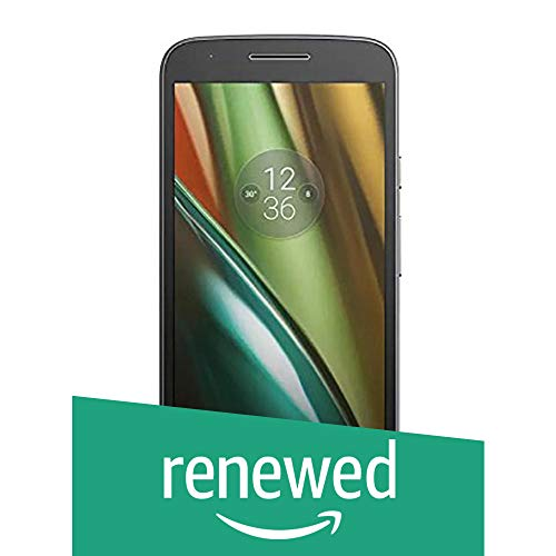 Renewed  Motorola Moto E3 Power  Black, 16 GB