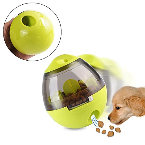 Interactive Pet Toy Pet Food Ball - Fun and Interactive Food Dispenser Ball and Pet Nail Clippers-Best alternative to Bowl Feeding Easy to CLEAN, Interactive Treat-dispensing Ball for Dogs & Cats