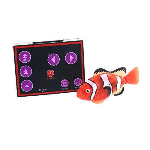 eSmart RC Remote Control Nemo Clown Fish For Kids (Clown Fish Aquarium)