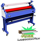 Qomolangma Large Format Laminator Machine 63in Semi-auto Cold Laminating and Mounting Machine with Laminating Film Gift