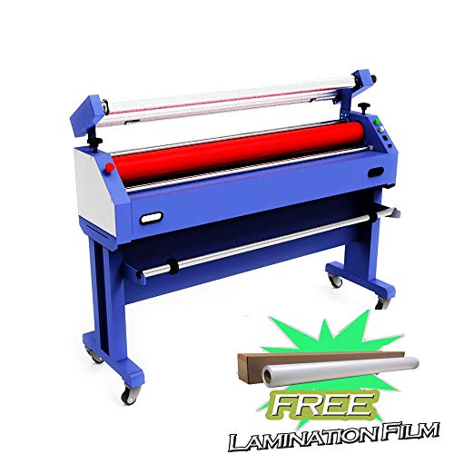 Wide Format Cold Laminator - Qomolangma Large Format Laminator Machine 63in Semi-auto Cold Laminating and Mounting Machine with Laminating Film Gift