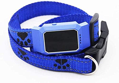 犬の首輪ペットトラッカー場所、犬のライブロケータとアクティビティモニタ30日間の長い超軽量の防水犬ファインダーCバッテリー,はい