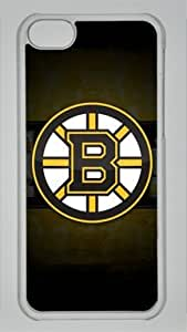 Henrik Lundqvist New York Rangers #30 NHL Custom PC Transparent Case for iPhone 5C