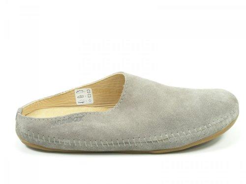 Haflinger Unisex-Erwachsene Softino Pantoffeln Grau