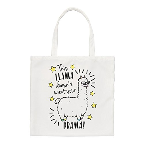 Small Llama Want This This Tote Your Doesn't Bag Llama Drama F0pfP