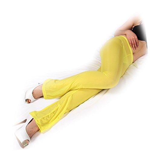 Sozixi - Pantalón - para mujer amarillo