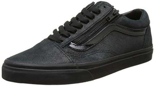 Negro Patent Unisex Vans Zapatillas Zip Adulto Skool Crackle Old AAqCR
