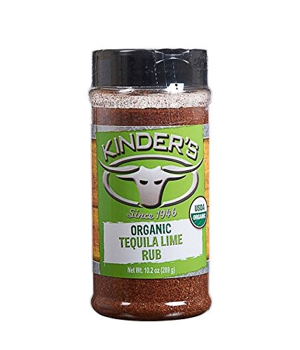 Kinder's Organic Tequila Lime Rub 10.2 Oz