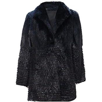 bd8b25878dad5 New Women's Dyed Beaver Fur Stroller w/ Sheared Beaver Fur Inserts 10 M  Black