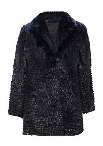 New Women's Dyed Beaver Fur Stroller w/ Sheared Beaver Fur Inserts 10 M Black (Dyed Sheared Beaver)