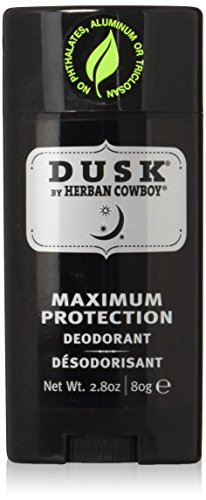 Herban Cowboy Deodorant Forest – 2.8 oz | Men's Deodorant | No Parabens, No Phthalates, No Aluminum & Certified Vegan