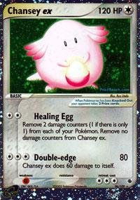 Pokemon - Chansey ex (96) - EX Ruby and Sapphire - Holofoil