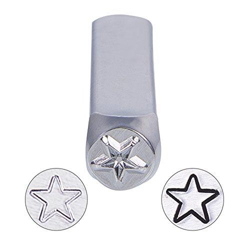 Stars Case Silver Design (BENECREAT 6mm 1/4