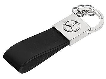 Mercedes-Benz Llavero, Seattle plata / negro, acero inox ...
