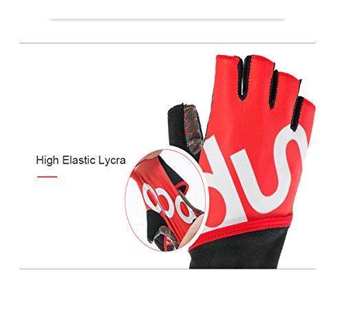 Super transpirable guantes de entrenamiento con muñequera apoyo y ...