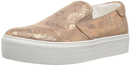 Kenneth Cole New York Women's Joanie Platform Slip Fashion Sneaker Rose Gold/White