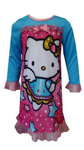 - Hello Kitty Nightgown Little Girls' Magical Kitty Nightgown, Multi, 2T