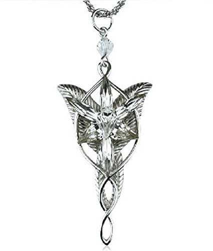Arwen's Evenstar Necklace Lord of the Rings Pendant Alloy (Lord Of The Rings Arwen Evenstar Pendant Necklace)