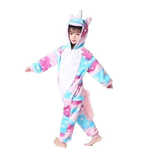 Kid's Animal Onesie Unicorn Costume Cosplay Pajamas