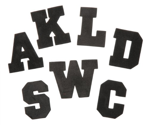 Varsity Roll (Darice 106-1320 200-Pack Foamies Alphabet Sticker Bag, Varsity Font, 2-Inch)