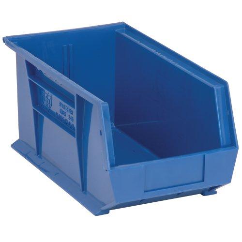 Edsal PB8504B High Density Stackable Plastic Bin, 8
