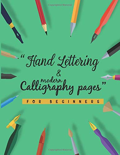 Hand Lettering and Modern Calligraphy Pages: Must
