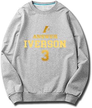 Sudadera de Baloncesto SHPP - No.3 Allen Iverson The Answer ...