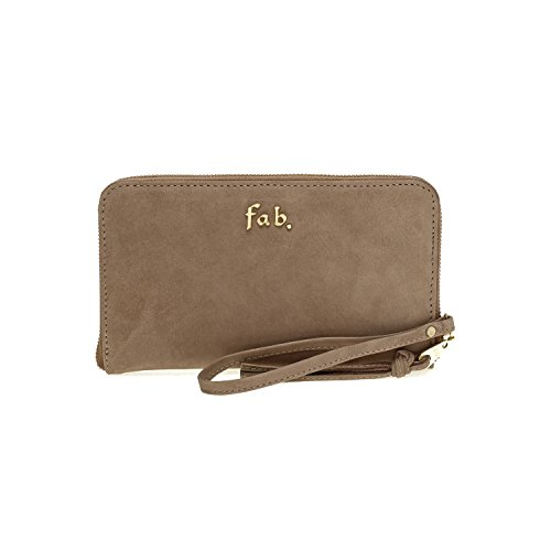 Fab by Fabienne 3 letter logo purse - Bolso NB avocado