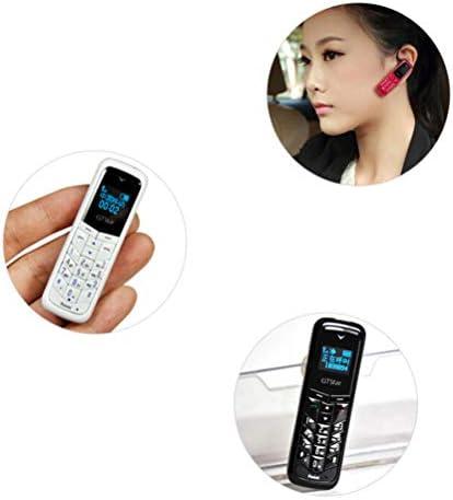 UKCOCO Mini teléfono móvil, Auricular Bluetooth de pequeño tamaño Bluetooth Dialer Compatible Dual SIM Card: Amazon.es: Electrónica