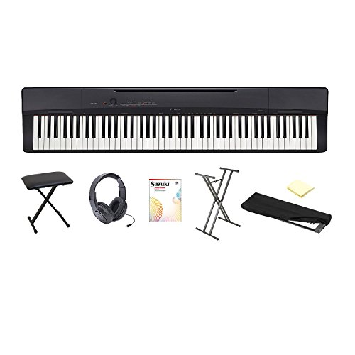 Casio PX150 Piano with Piano Book and CD Vol-1, Stand, X Sty