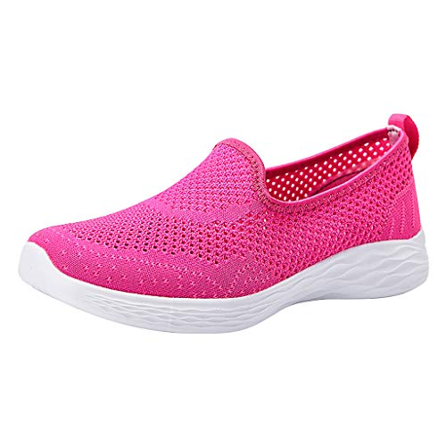 SUNyongsh Women's Leisure Breathable Mesh Outdoor Fitness Running Sport Sneakers Shoes Hot ()