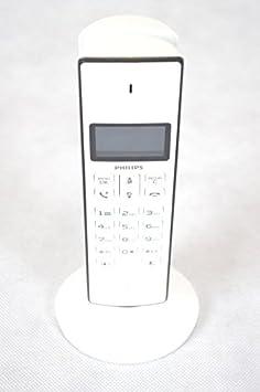 Philips M3301W - Teléfono, color blanco