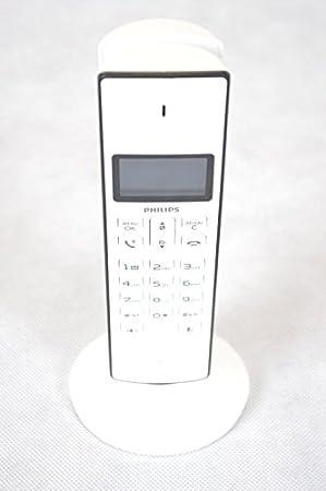 Tel/éfono Inal/ámbrico PHILIPS M3301W//23 Blanco Manos Libres