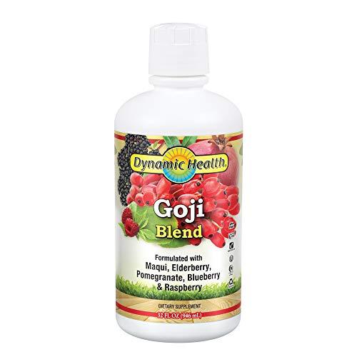 (Dynamic Health Goji Juice Blend, Lycium Barbarum, 32 Ounces (Pack of 2))