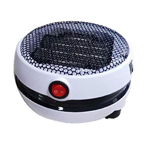Meen Heater,Mini White Round Heater Desktop Small Sun Office Home Portable Heater