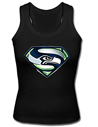 Superman+tank+tops Products : Custom Teen Girls Seahawks Superman Tank Top Racerback