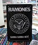 Ramones Band Music Gabba Tin sign Art House PUB Cafe Bar Vintage Metal signs A-27 Mix order 20*30 CM