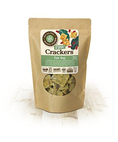 Kale Goji Raw Crackers