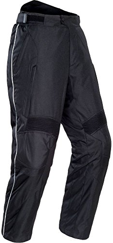 Tour Master Overpant Womens Textile Street Motorcycle Pants - Black/Large