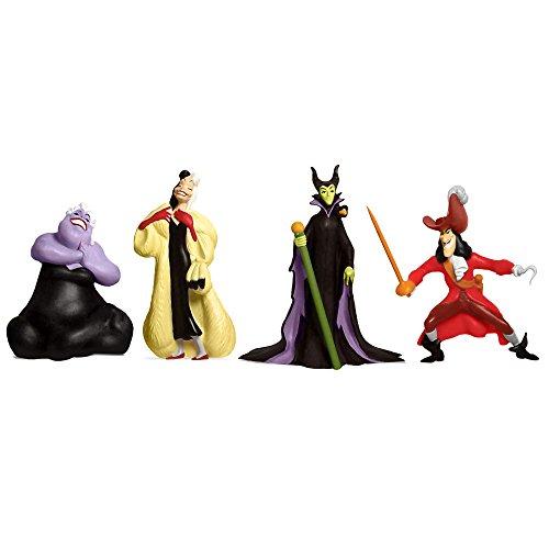 Beverly Hills Teddy Bear Company Disney Figurines Villains Figure (4-Pack) ()